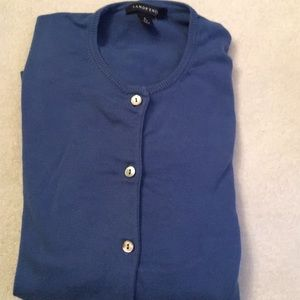 Land's End Cardigan Sweater (S 6-8)